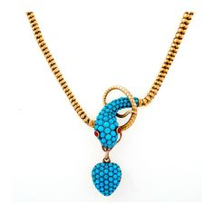 The snake is the most loved motif in antique jewellery | The Jewellery Editor Macklowe Gallery