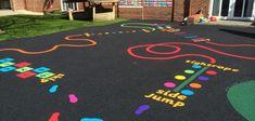 playground markings kent - Google Search