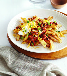 Chili Cheese Fries - Clean Eating - Clean Eating