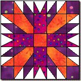 Exploding Star from Quilter's Cache (lots and lots of other patterns on this site)