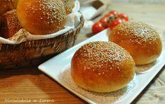Panini per hamburger con lievito madre