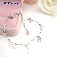 Anklet chain VOT7 vestitiy Curve Musical Symbol Anklet Bracelet Sandal Barefoot Beach Foot Jewelry Aug 12 //Price: $US $0.66 & FREE Shipping //     Curve Musical Symbol Anklet Bracelet Sandal Barefoot Beach Foot Jewelry    Feature:       100% brand new and high quality.       Quantity: 1PC       Gender: Women, Girl       Material: Alloy       Color: Silver       Length: 22+5cm       Nice accessories to integrate jewelry case for girls and collectors.       Match with suitable apparel for…