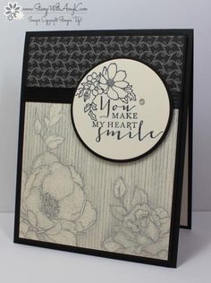 Timeless Love You Make My Heart Smile by amyk3868 - Cards and Paper Crafts at Splitcoaststampers