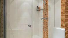Saubere Duschkabine