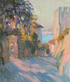 Evening shade(price request)) - Igor Larionov -