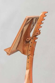 Fiddler Mantis « The Krenov School of Fine Furniture Fine Furniture, Furniture Projects, Woodworking Furniture, Woodworking Projects, Sheet Music Stand, Wooden Hinges, Steam Bending Wood, Small Wood Projects, Home Room Design