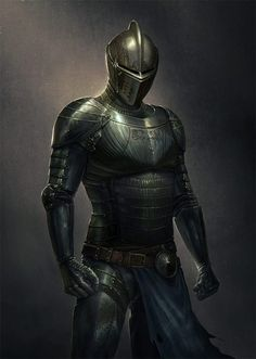 Fast Knight (weapon of choice: full blade spear) Soldiers of the free people. The very elite, only a handful is still alive and only 2 teachers of the art are still known. Inspiration Drawing, Character Inspiration, Medieval Armor, Medieval Fantasy, Fantasy Armor, Dark Fantasy, Fantasy Character Design, Character Art, Dark Prince