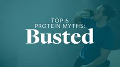 Don't let protein hang-ups prevent you from making gains. Got Off, How To Find Out, Protein, Mindfulness, Let It Be, Motivation, Reading, Health, Top