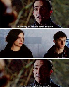 No, Isaac. Not even Regina's magic is powerful enough to turn the town line into a time portal thus allowing you to suddenly be in 2017 and not 2013 where Hamilton should not exist!