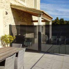 Verticaal veranda windscherm - Terras windscherm Pergola, Outdoor Structures, Gardens, Patio Shade, Balcony, Lawn And Garden, Outdoor Pergola