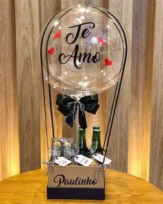 Diy Father's Day Crafts, Father's Day Diy, Fathers Day Crafts, Diy Arts And Crafts, Balloon Flowers, Balloon Bouquet, Diy Birthday, Birthday Gifts, Ideas Aniversario