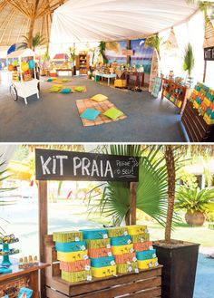 Surf's Up! Incredible Island Paradise Birthday Party // Hostess with the Mostess® Luau Party Decorations, Party Themes, Theme Parties, Party Ideas, 1st Boy Birthday, Boy Birthday Parties, Beach Party Invitations, Party Favors, Vintage Beach Party