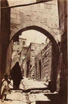 1919 yılı İngiliz İşgali sırasında bir sokak