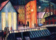 The Night Shift (Marianne von Werefkin - 1925)