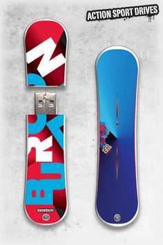 Burton SnowDrive : Process USB Flash Drive // Action Sport Drives have teamed up with the best snowboard companies in the industry to create the original USB Flash Drive snowboard. We've combined this innovative design with the graphics from actual Burton snowboards like their Process Model.    Now you can get your favorite snowboard graphics, and transfer files in style.