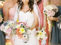 spring boquets | CHECK OUT MORE IDEAS AT WEDDINGPINS.NET | #bridesmaids