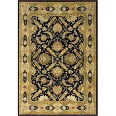 Hand-tufted Delhi Blue Wool Rug (5' x 8')  Item #: 12961550        154.99  Love this rug...it will look good in the condo L.R.!!!