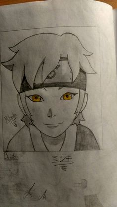 This is Mitsuki from Boruto. He's my friend's and my favorit character in the anime. He's so KAWAII!
