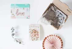 """Love Rosé""-Box Love Rose, Container, Box, Cards, Mariage, Ideas, Boxes, Maps, Canisters"