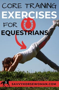 Any professional equestrian will tell you that core training exercises for horse riders are one of most essential element of any rider's fitness goals. Fitness Diet, Fitness Goals, Woman Fitness, Fitness Plan, Health Fitness, Core Training Exercises, Horse Riding Tips, Horse Tips, Trail Riding