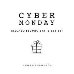 Cyber Monday. Regalo seguro con tu pedido. Promoción finalizada.
