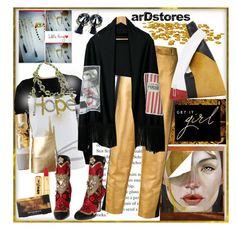 """arDstores (10)"" by carola-corana ❤ liked on Polyvore featuring Oscar de la Renta, Lanvin, Dolce&Gabbana, Nasty Gal, Smashbox, handmade and dinaluigi"