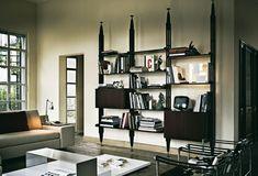 Mensola moderno in legno di Franco Albini - 835 INFINITO - Cassina