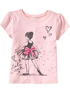 Ballerina - Graphic Crew-Neck Tees for Baby | Old Navy