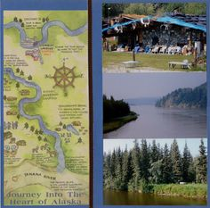 Fairbanks River cruise (right page) - Scrapbook.com