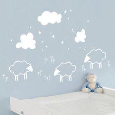 ADZif Piccolo Little Sheeps Wall Decal | Wayfair