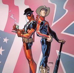 Deadpool & Captain Britain