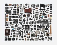 Photography Equipment Arranged Neatly