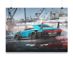 EXCLUSIVE - Thumb Drift YD Inbound Racer (rear view) - YASIDDESIGN