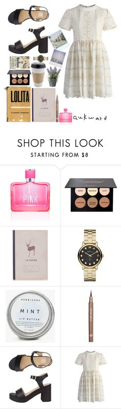 """Summer ends"" by gizemyilddiz ❤ liked on Polyvore featuring Victoria's Secret PINK, Katy & June, Marc by Marc Jacobs, Herbivore, BBrowBar, Polaroid, Chicwish and OKA"