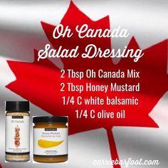 Epicure Recipes, Yummy Recipes, Yummy Food, Honey Mustard, Salad Dressing, Tumbler, The Cure, Food Ideas, Salads