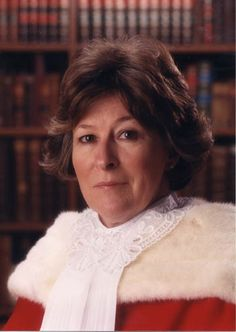 Louise Arbour, Montreal born internationally renowned judge and lawyer who became the United Nations High Commissioner for Human Rights in 2004.  http://en.wikipedia.org/wiki/Louise_Arbour