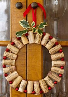 Great Christmas wreath ideas for the house.