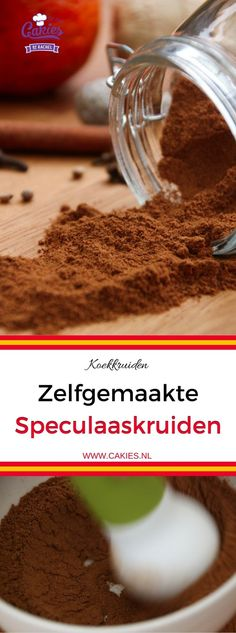 Speculaas Spice Mix is often used in Dutch cuisine. Speculaas is also known as Spekulatius, Speculoos and Spekolaus. An aromatic blend of spices. Dutch Recipes, Baking Recipes, Dessert Recipes, Desserts, Belgian Recipes, Amish Recipes, Rib Recipes, Homemade Spices, Homemade Seasonings