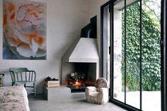 Sitting room in Bourgogne, France, by Josephine Interior Design Living Etc, Home And Living, Living Rooms, Living Spaces, Interior Styling, Interior Decorating, Rue Verte, Cosy Corner, Interior Design Companies