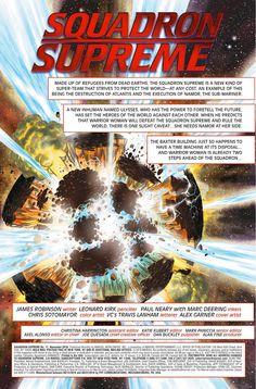 Preview: Squadron Supreme #11, Story: James Robinson Art: Leonard Kirk Cover…
