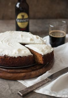 Stout Gingerbread Cake