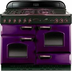 Talk about Pantone Color of Year I think this could be stunning if done right in a kitchen Purple Furniture, Goth Home, All Things Purple, Purple Stuff, Purple Reign, Gothic House, Shades Of Purple, Pantone Color, My Dream Home