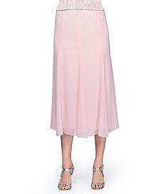 Alex Evenings Chiffon Skirt #Dillards