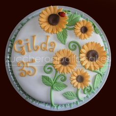sunflower cakes - Google Search