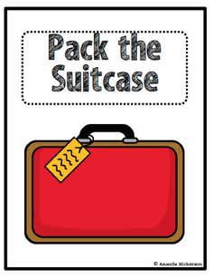 """""""Pack the Suitcase"""" for main idea/ important ideas- students """"pack the suitcase"""" with important parts from the text and then try to """"lighten their load"""" by keeping only the most important ideas.... worth a try!"""