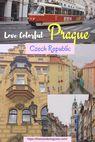 Fall in love with colourful Prague, Czech Republic #europe #prague #travel