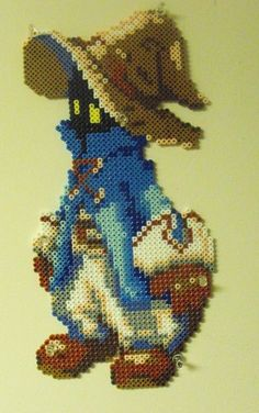 FF perler design Perler Beads, Perler Bead Art, Fuse Beads, Hama Beads Design, Hama Beads Patterns, Beading Patterns, Final Fantasy, Beaded Cross Stitch, Cross Stitch Embroidery