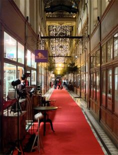 Le Passage du Grand Cerf, the most beautiful shopping arcade in Paris