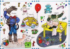 KINITA Y SU FAMILIA - Araceli Heloise - Álbumes web de Picasa Bizarre, Vintage Paper Dolls, Retro Toys, Children And Family, Art Pages, Beautiful Children, Snoopy, Artist, Fun