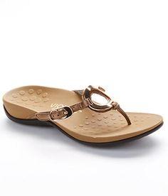 Vionic Leather Sandals Shoes 340KARINA at BareNecessities.com